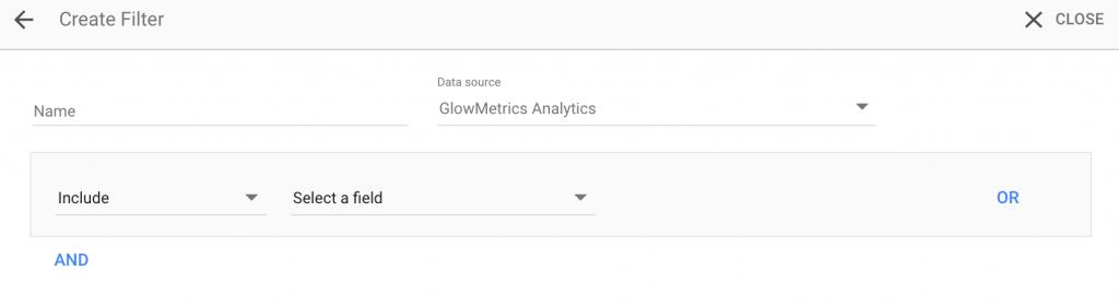 Create A Filter Menu in Data Studio