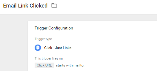Tracking Clicks to Email via Google Tag Manager
