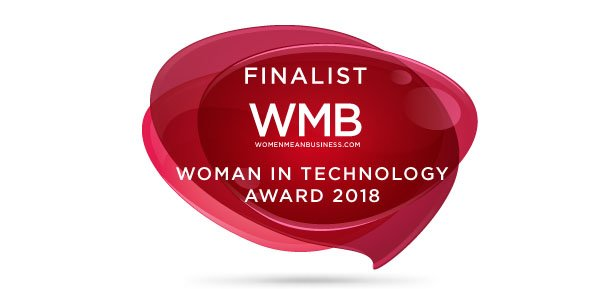 Finalist Emblem-WMB Woman In Technology Award '18