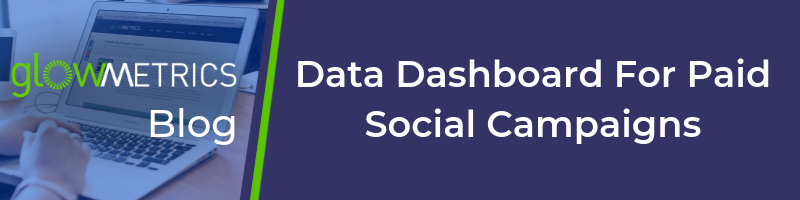 Data Dashboard for Paid Social Campaigns