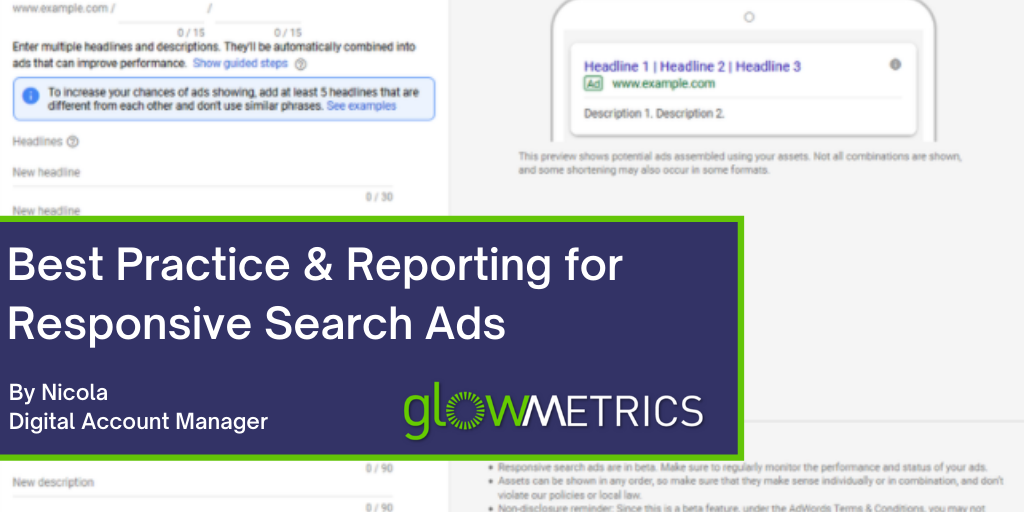 Best Practice & Reporting for Responsive Search Ads