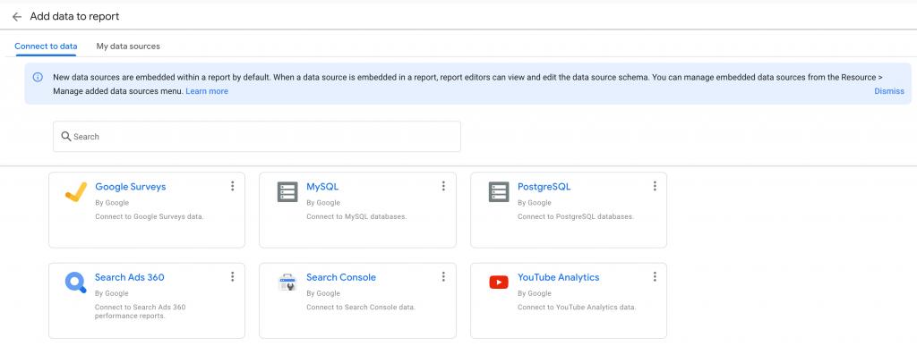 Google Survey connector in Data Studio