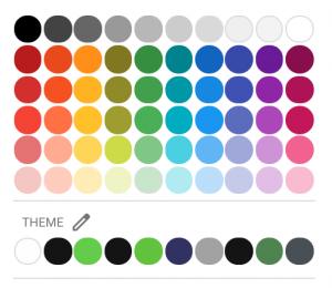 Colour Chart Data Studio