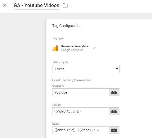Tracking Youtube Videos via GTM in 2018 (Using New Built-In