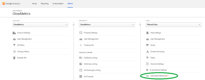 Calculated Metrics (Beta) – new Google Analytics feature rolling out