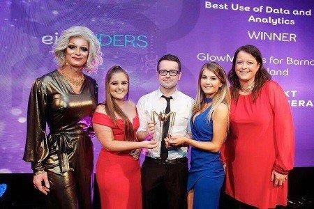 2016 eir SPIDERS Award Win for GlowMetrics